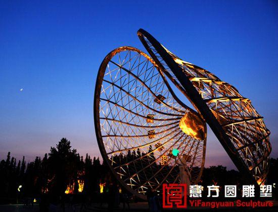 安徽省蚌埠市张公山公园20米主题雕塑图片