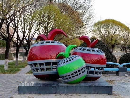 人口文化雕塑