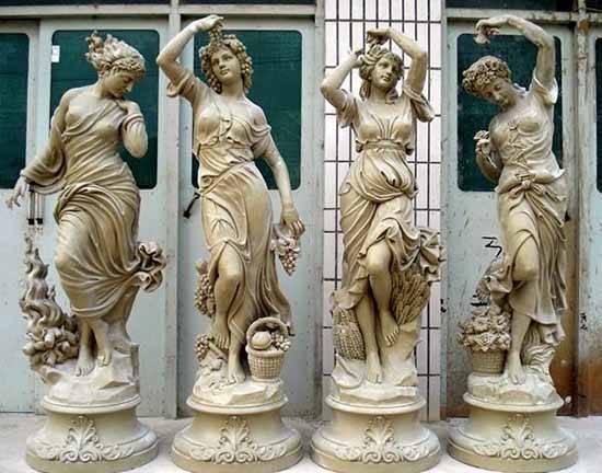 玻璃钢雕塑是雕塑的一种成品类型大道艺术工艺