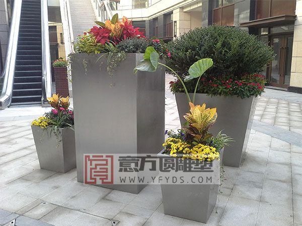 花盆小品雕塑